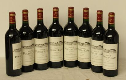 8 bout CHT PONTET CANET 1989