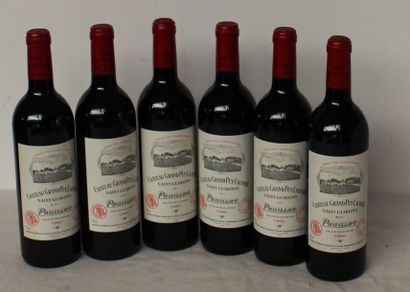 6 bout CHT GRAND PUY LACOSTE 1990