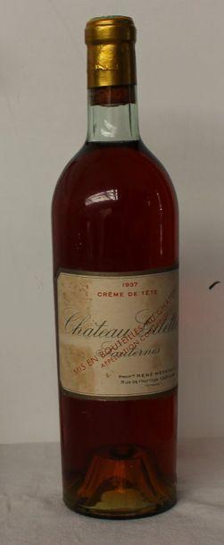 1 bout CHT GILETTE CREME DE TETE 1937 (BG...