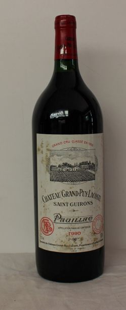 1 mag CHT GRAND PUY LACOSTE 1990 (étiq t...