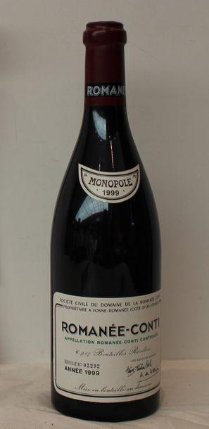 1 bout DOMAINE DE LA ROMANEE CONTI 1999 (cotre...