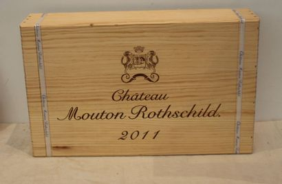 6 bout CHT MOUTON ROTHSCHILD 2011 CBO