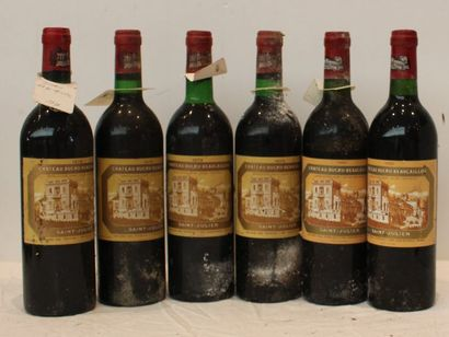 6 bout CHT DUCRU BEAUCAILLOU 2/1986 tb, 3/1979...