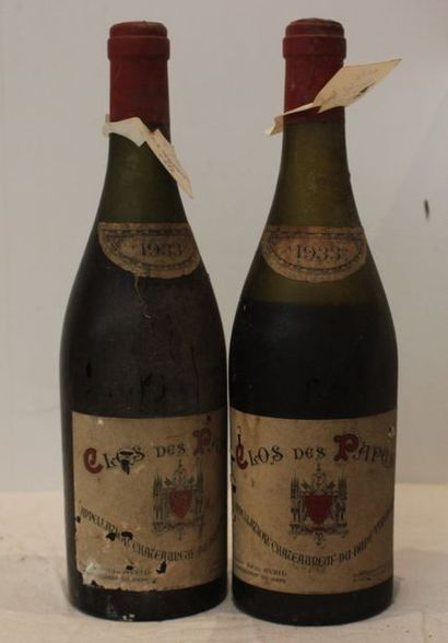 2 bout CDP P. AVRIL 1933 (nlb et basse)