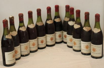 12 bout CDP DOMAINE DE NALYS 1967 (9ntlb,...