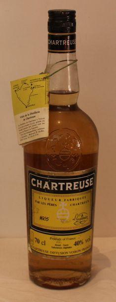 1 bout CHARTREUSE JAUNE