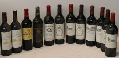 12 bout 2 CHT PRIEURE LICHINE 2001, 1 CHT...