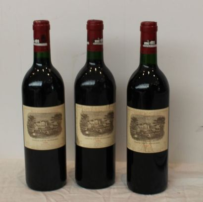 2 bout CHT MOUTON ROTHSCHILD 1990