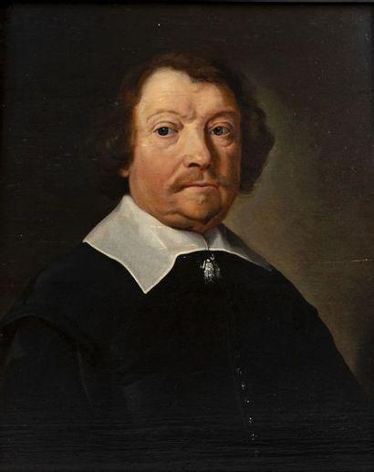 École hollandaise (Haarlem) vers 1660 Portrait...