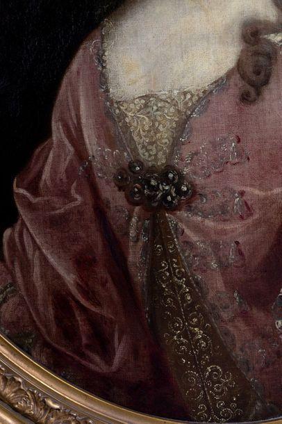 Follower of Adriaen van der WERFF (1659-1722) Portrait of a lady of quality Oil...