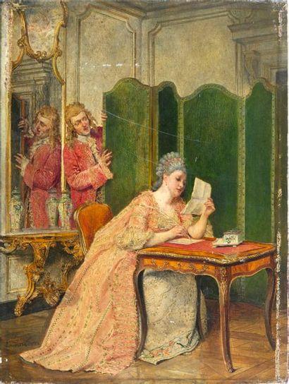 Ignacio DE LEÓN Y ESCOSURA(Oviedo, 1834-Toledo,...
