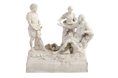 Paul-Louis CYFFLÉ (1724-1806) Bélisaire aveugle...