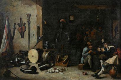 Suiveur de David II TENIERS (1610-1690) Le...