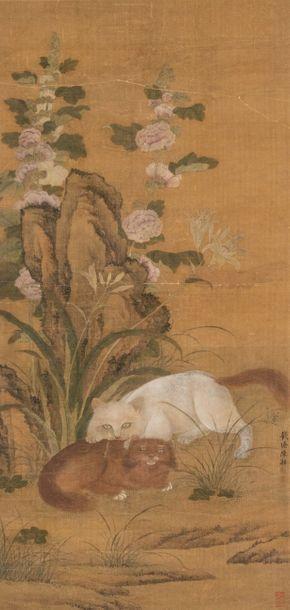 Xiang CHEN,Chine, XVIIIe-XIXe siècle Peinture...