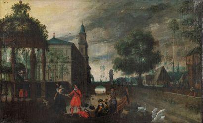 Suiveur de Sebastiaen VRANCX (1573-1647)...