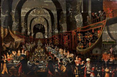 Atelier de Frans FRANCKEN II (Anvers, 1581-1642)...