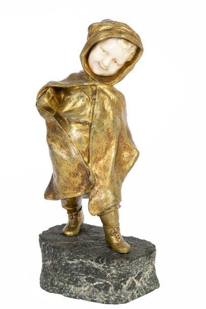 Affortunato GORY (1895-1925) Jeune écolier...