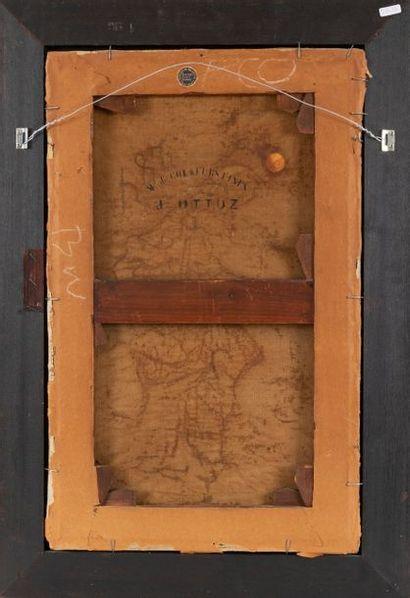 Armand LAROCHE (1826-1903) La pêche Oil on canvas Signed lower right A. Laroche...