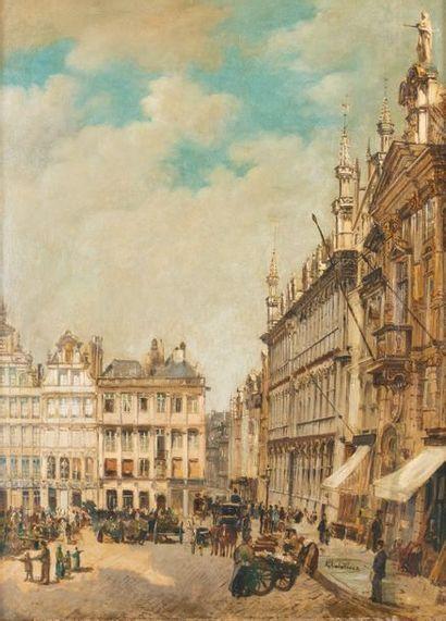 Gustave WALCKIERS (1831-1891) Coin de la...