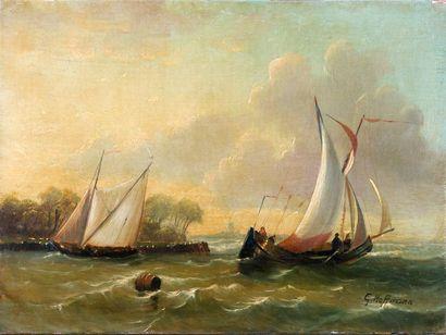 Georges Johannes HOFFMANN (La Haye, 1833-1873)...