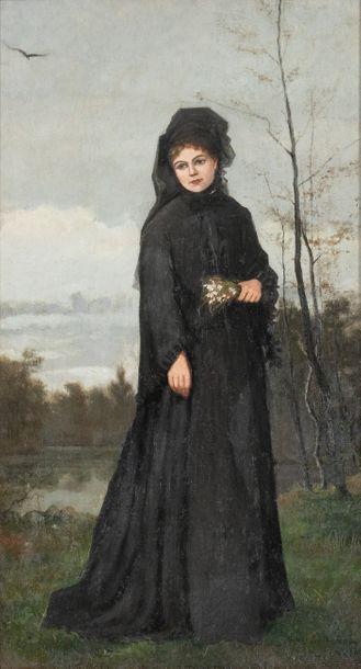 Louis Welden HAWKINS (1849-1910) Portrait...