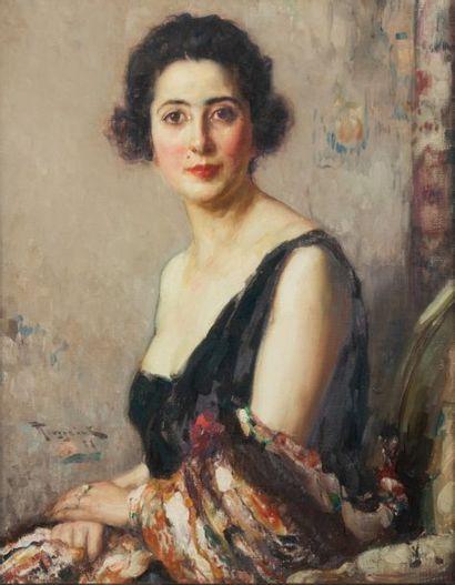 Fernand TOUSSAINT (1873-1955/56) Portrait...