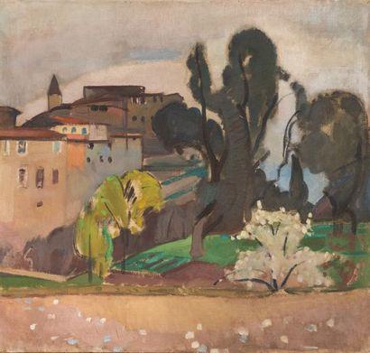 Jean VANDEN EECKHOUDT (1875-1946) Printemps...