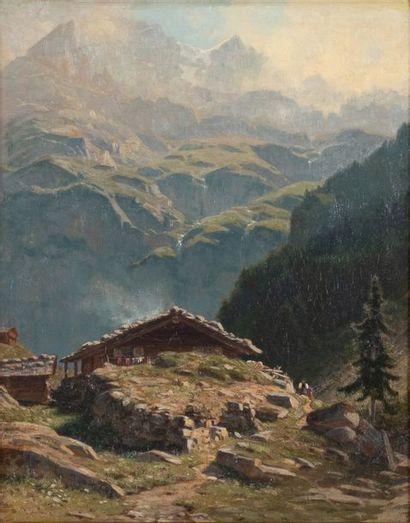 Albert Henry John GROS (Genève1852-1942)...