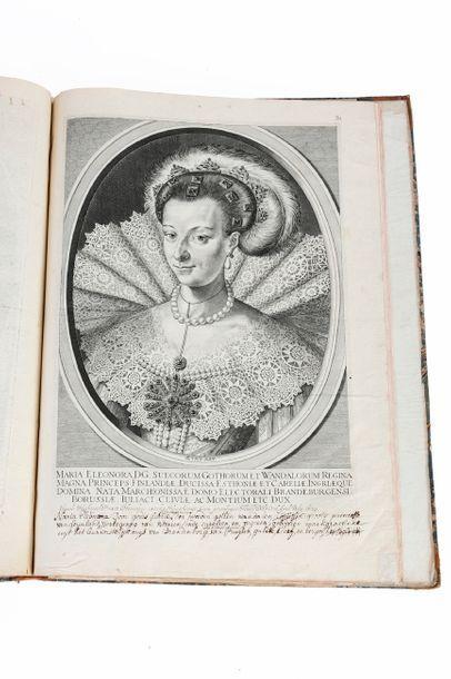Portraits et estampes Recueil de gravures...