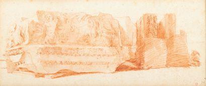 Attribué à Hubert ROBERT (Paris1733-1808)...