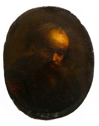 Attribué à Jan LIEVENS (Leyde, 1607-Amsterdam,...