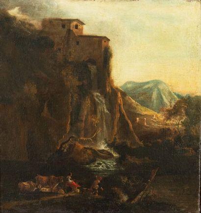 Attribué à Salvator ROSA (Arenella, 1615-Rome,...