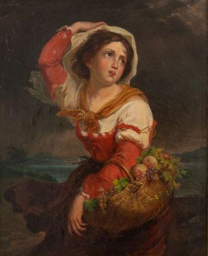 À la manière de Jean-Baptiste GREUZE (1725-1805)...