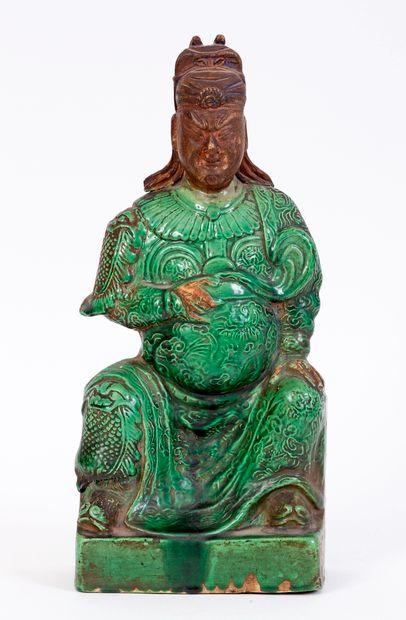 Chine, époque Kangxi (1662-1722) Sujet en...