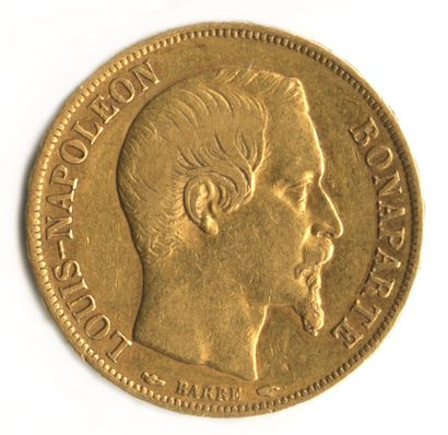 France - Pièce de 20 francs or Louis-Napoléon...
