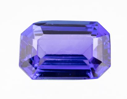 Beautiful octagonal tanzanite of mixed size...