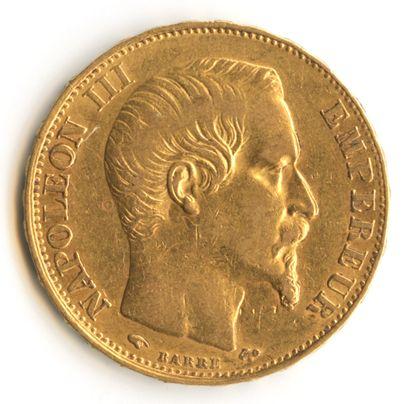 France - Pièce de monnaie de 20 francs or...