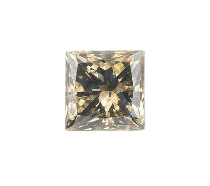 Diamant naturel de couleur fancy dark yellowish...