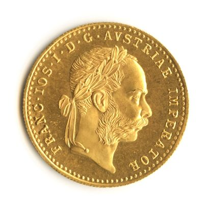 Austria - Gold coin of 1 ducat of Francis...