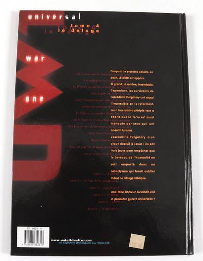 """Bajram : Universal War One , """" Le Déluge """" en réédition de 2001 agrémenté d'une illustration..."""