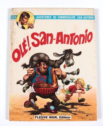 """Desclez : San-Antonio , """" Olé ! San-Antonio """" en édition originale agrémenté d'une..."""
