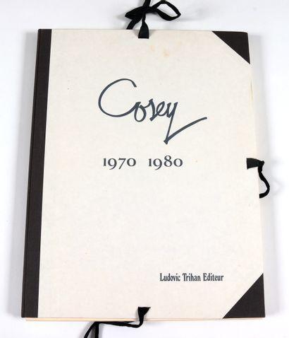 Cosey : Ensemble de deux pièces. Une mystérieuse mélodie en édition originale agrémenté...