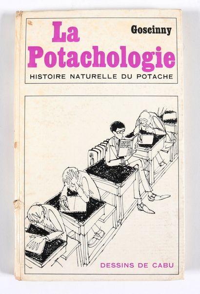Goscinny : La Potachologie , livre du Goscinny et de Cabu publié aux Editions Denoël...