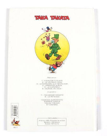 "Azara : Taka Takata , "" Silence, on vole! ""en édition originale agrémenté d'une..."