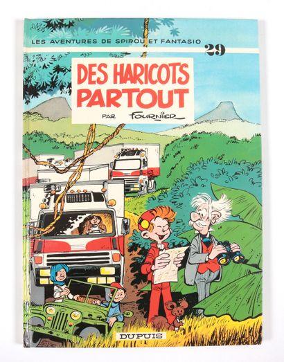 """Fournier : Spirou et Fantasio , """" Des haricots partout """" en réédition de 1989 agrémenté..."""