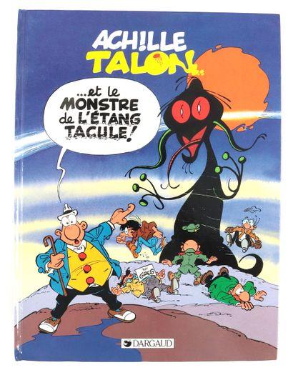 """Greg : Achille Talon , """" ...et le monstre de l'étang tacule ! """" (eo 1989) agrémenté..."""