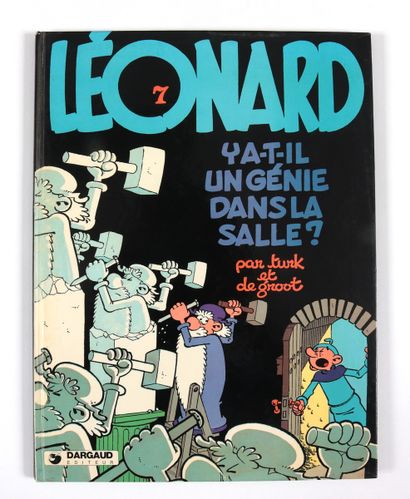 """DIVERS : Ensemble de deux albums : Léonard, """"Y a-t-il un génie dans la salle ?""""..."""