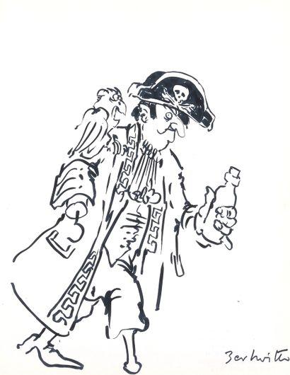 Collectif : Carnet de dédicaces réalisé sur le thème de la marine et de la mer en...