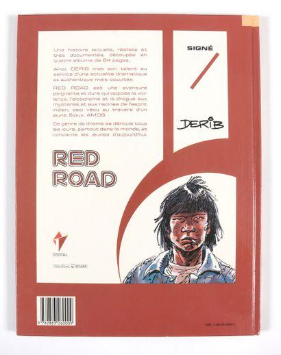 """Derib : Red Road , """" American Buffalos """" en édition originale agrémenté d'une illustration..."""