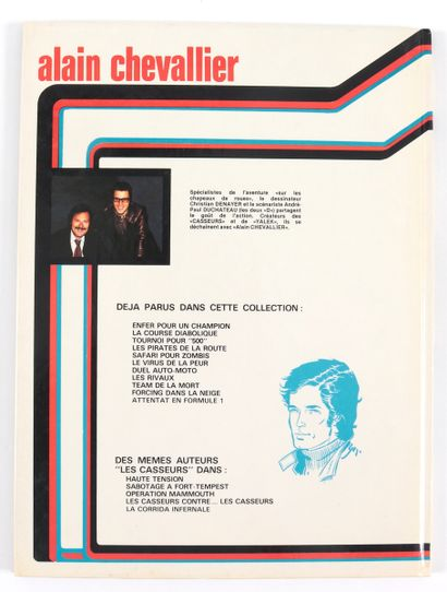"""Denayer : Ensemble de deux albums. Alain Chevalier , """" Le Français errant """" (eo 1981)..."""